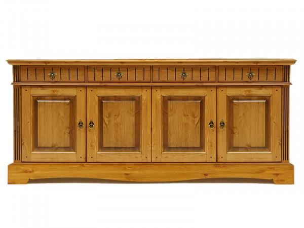 Sideboard Anrichte Kommode Florenz 4 Schubladen 4 Türen sierra