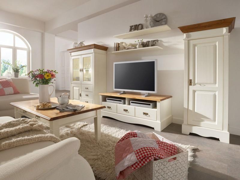Wohnzimmer Aus Massivholz Mediterranes Wohnen Casamia Wohnen