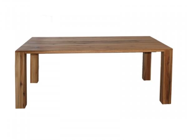 Esstisch Massivholz-Tisch Chicago 200 x 100 cm, Wildeiche geölt