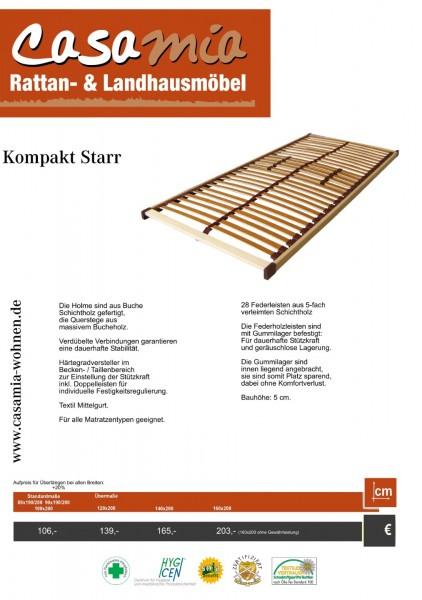 Lattenrost Kompakt Starr Länge 200 cm