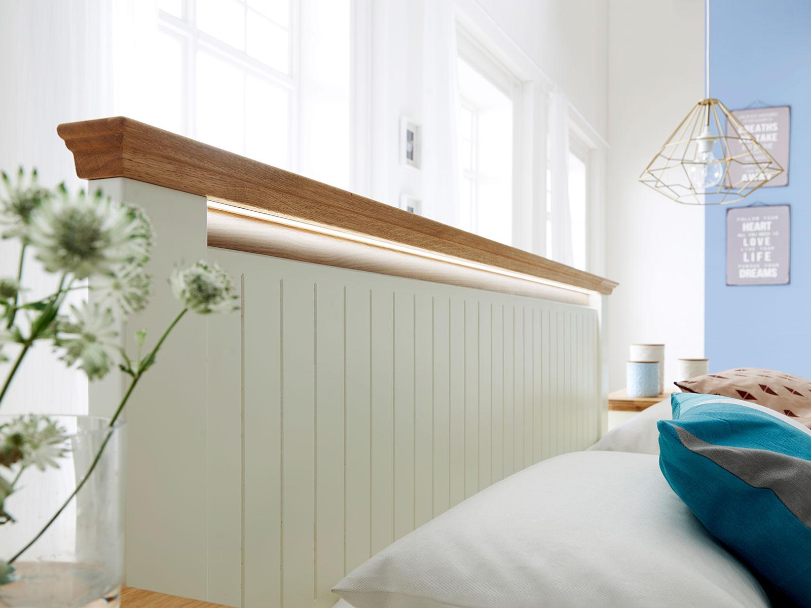 LED Effekt-Ambientebeleuchtung für Kopfteil Bett Dreams