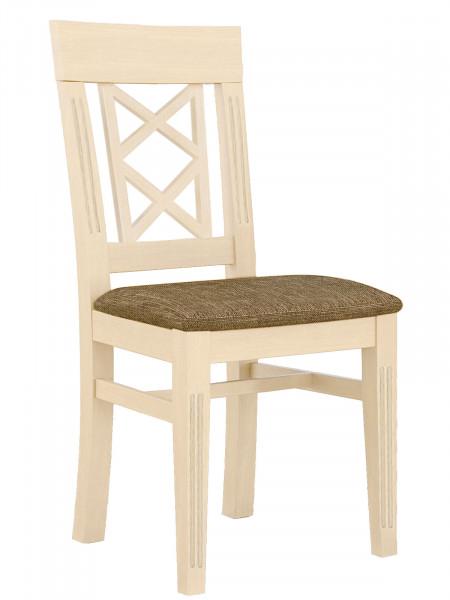 Esszimmer-Stuhl mit Festpolsterkissen Chalet Pinie massiv