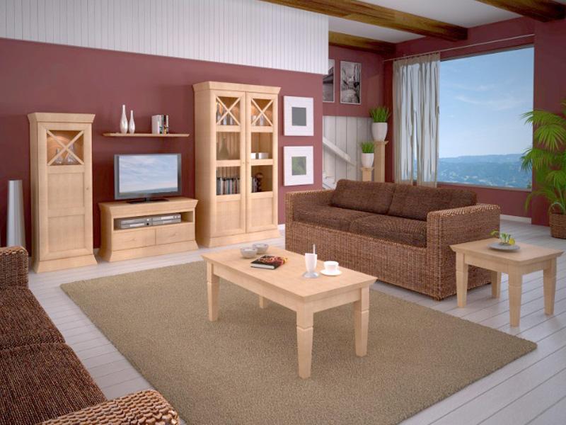 Couchtisch beistelltisch ecktisch 60 x 60 cm pinie massiv in 6 farben casamia wohnen - Ecktisch esszimmer ...