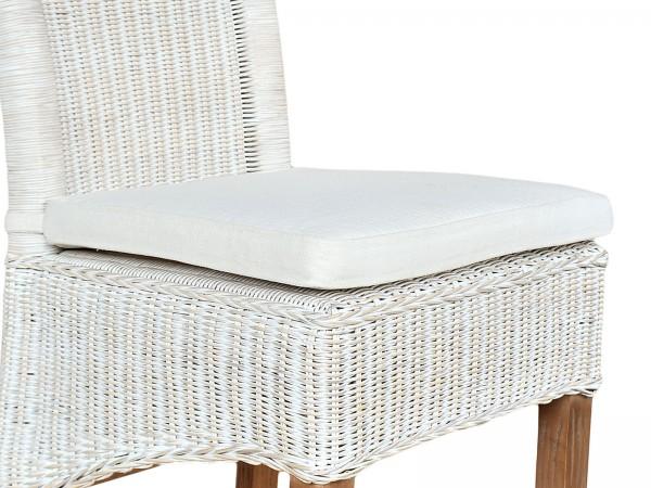 Sitzkissen Stuhlkissen Perth mit Schleife für Stuhl mit Armlehnen