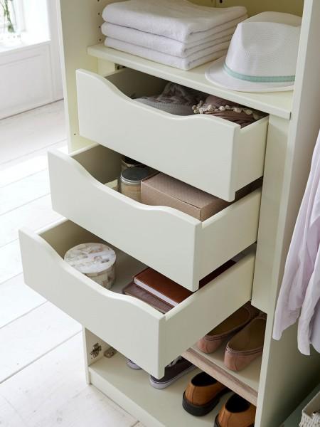Schubladeneinsatz 3 Schubladen für 1 Tür Kleiderschrank Dreams