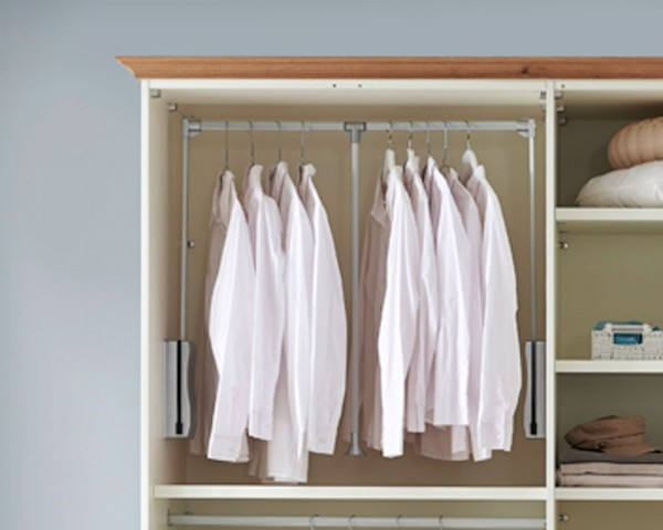 Kleiderlift Dreams für 2 Türen Breite 83 - 119 cm