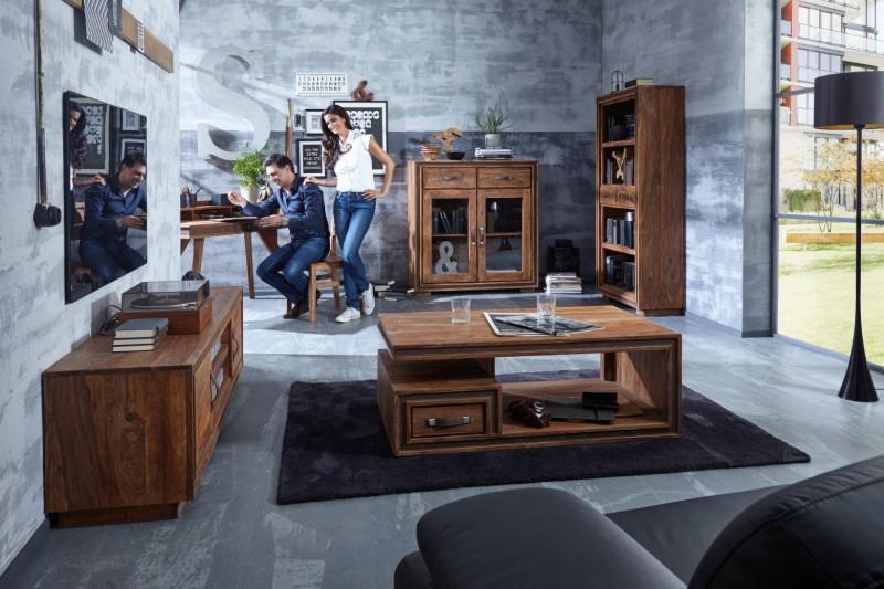 Moderne Wohnzimmer Mobel Aus Massivholz Kreatives Wohnen
