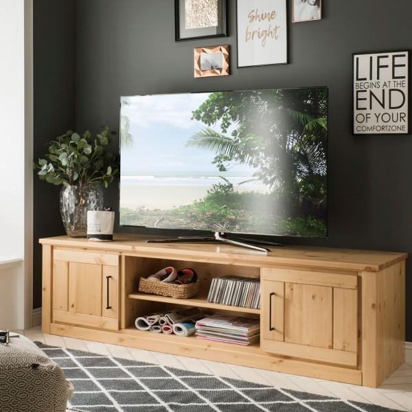 TV Lowboard TV Schrank Verona 2 Türen, 2 Fächer, Pinie Nordica lackiert