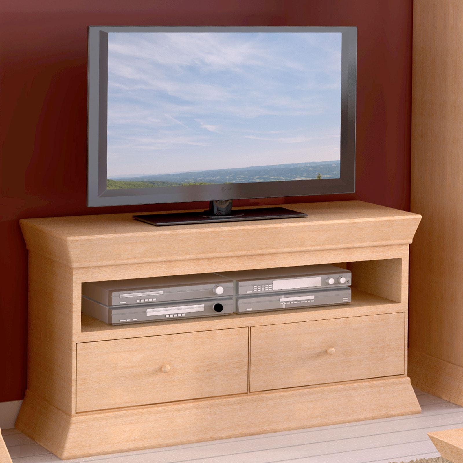 Tv Lowboard Fernsehschrank Tv Schrank Quadro B 114 H 64 Cm Pinie Massiv Casamia Wohnen