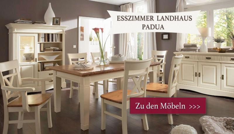 Landhausmöbel Aus Massivholz Für Alle Wohnbereiche Weiß Und Andere