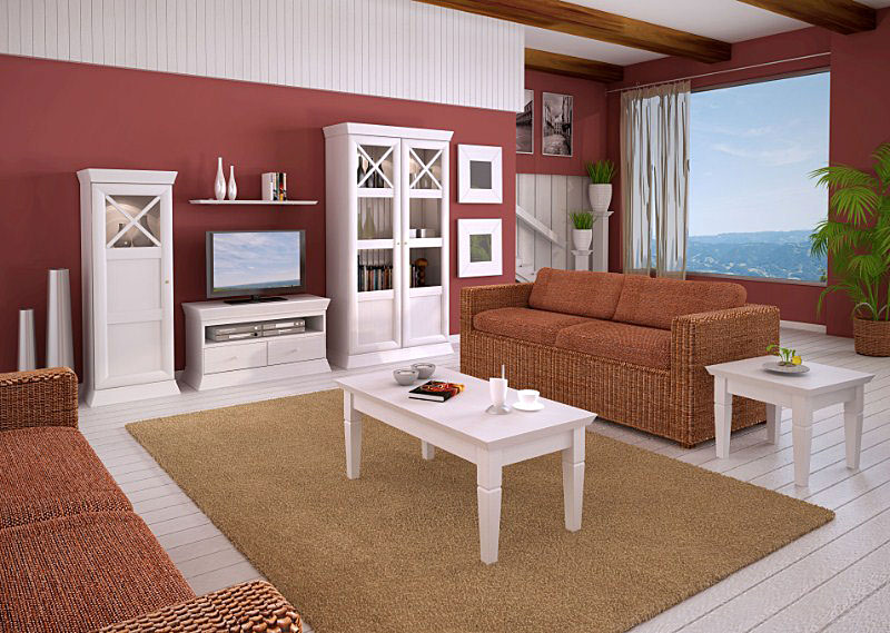 s ulenschrank blumens ule duett h he 132 cm 1 t r pinie massiv casamia wohnen. Black Bedroom Furniture Sets. Home Design Ideas