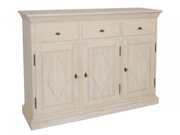 Sideboard Anrichte Grande 3 Türen 3 Schubladen, Holzfront