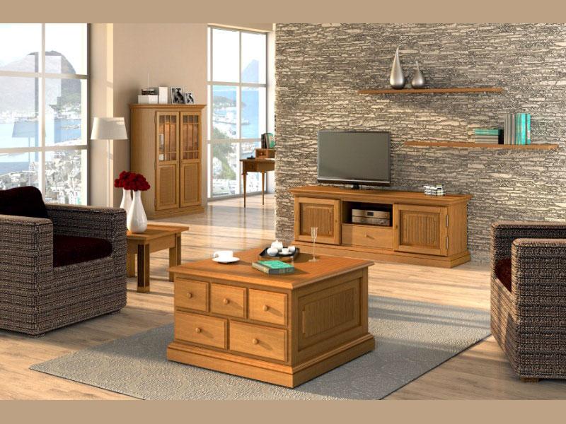 couchtisch quadratisch mit schublade und fester platte pinie massiv 70x70 cm casamia wohnen. Black Bedroom Furniture Sets. Home Design Ideas
