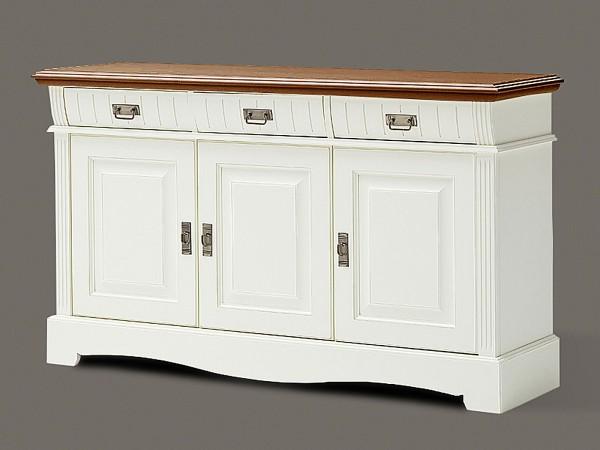 Sideboard Kommode Anrichte Padua 3 Schubladen 3 Türen 157 x 91 x 47 cm
