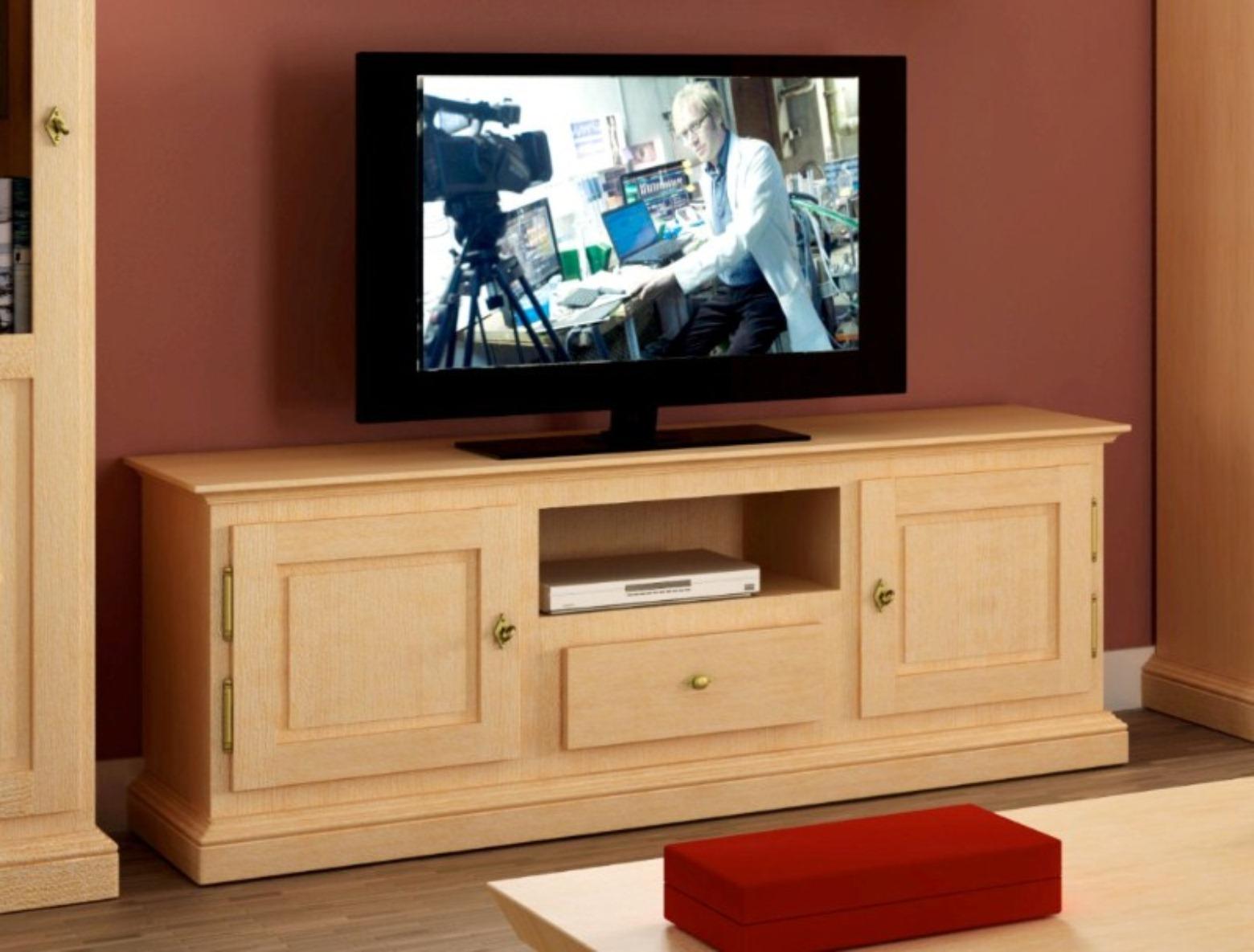 Tv Lowboard Fernseh Schrank Grande Pinie Massiv Casamia Wohnen