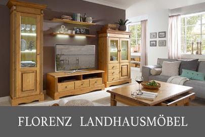 Landhausmöbel aus Massivholz für alle Wohnbereiche weiß und andere ...