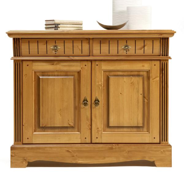 Sideboard Anrichte Kommode Florenz 2 Schubladen 2 Türen sierra