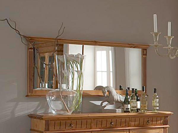 Wandspiegel Esszimmer-Spiegel Florenz 155 x 70 cm Pinie Nordica massiv sierra