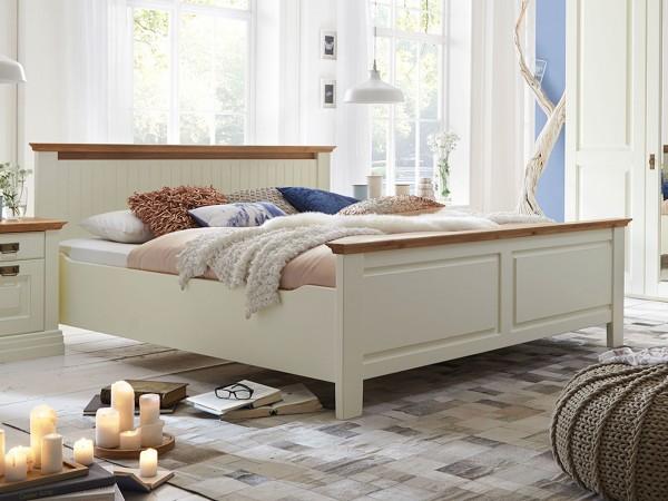 Bett Doppelbett Dreams 160 x 200 cm, Absetzung Wildeiche Ausstellung
