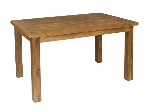 Esstisch Esszimmer-Tisch Massivholz-Tisch Gartentisch 180 x 90 cm Innen u. Außen Teakholz massiv