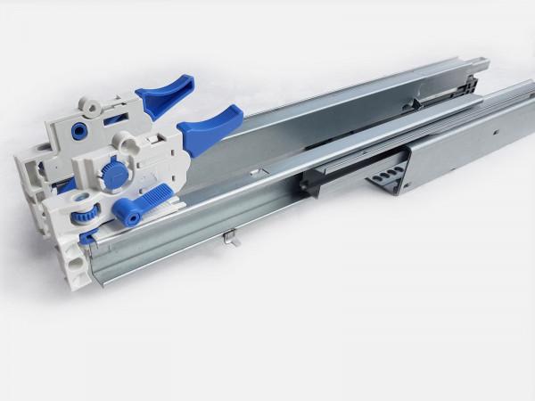 Schubladen Schiene Vollauszug 1 Paar 350mm Tragkraft 40 kg Schubkasten Teleskopauszug mit Dämpfung