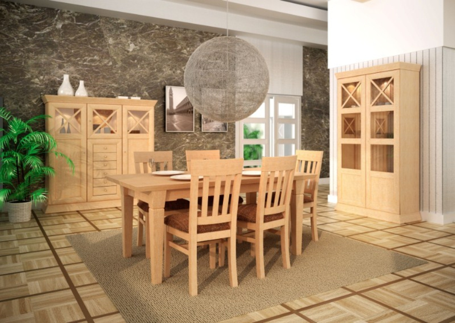 Esstisch Esszimmer Tisch Mit Klappeinlage Pinie Massiv Karamell